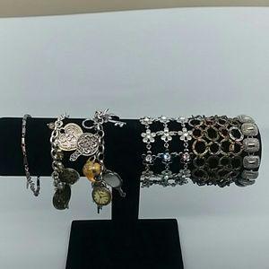6 piece Metallic Bracelet Bundle 💜